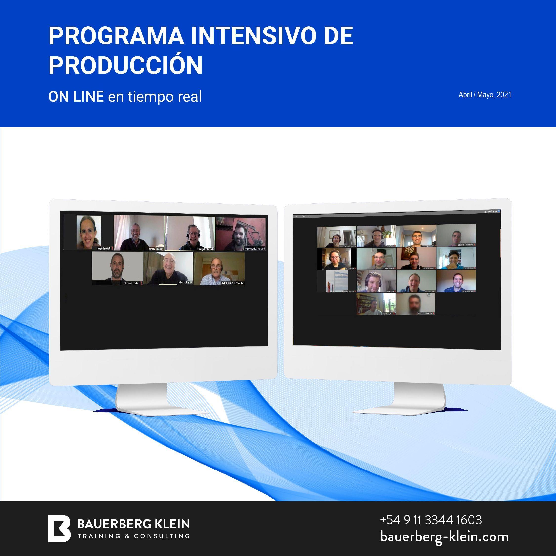 Programa Intensivo de Producción /SINOPEC  Abril-Mayo