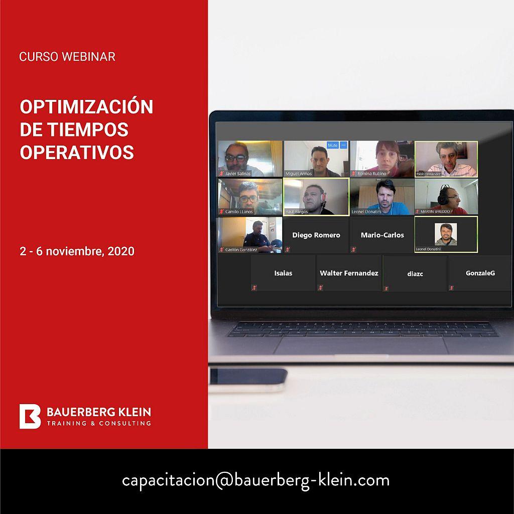 Optimización de Tiempos Operativos