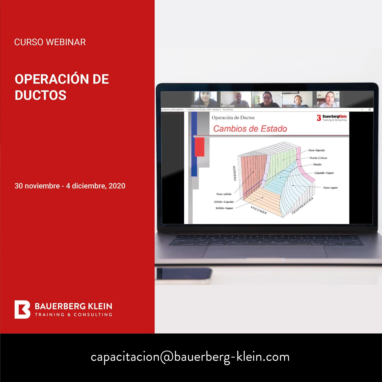 Operación de Ductos