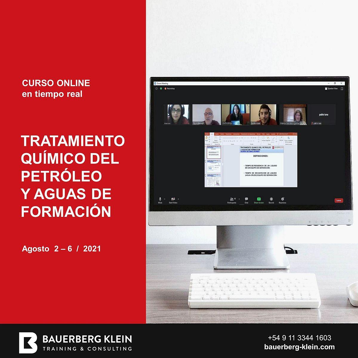 Tratamiento Químico del Petróleo y Aguas de  Formación