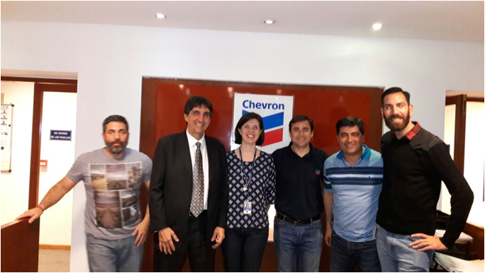 WIRE LINE - IN COMPANY CHEVRON - ING. ANGEL MESO