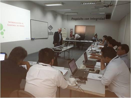 EMPAQUE DE GRAVA - IN COMPANY YPFB ANDINA - ALBERTO BLANCO