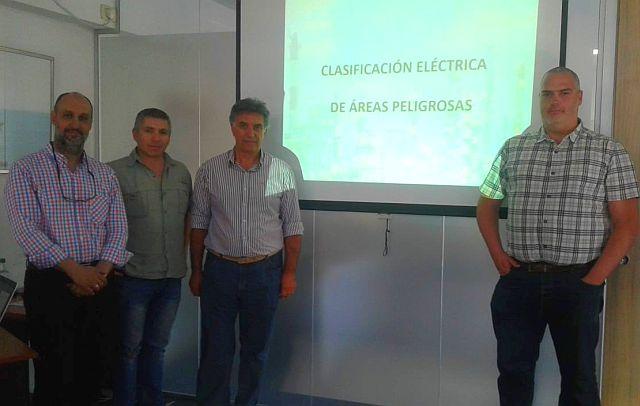 Clasificación Eléctrica de Áreas Peligrosas